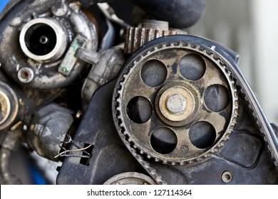 Old gear wheel