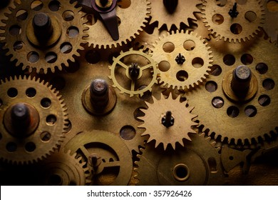 Old gears and cogs