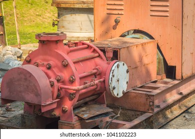old generator and pump oil