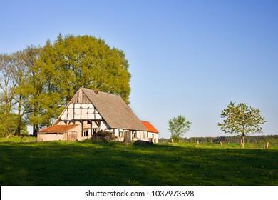 An old german farmhouse in North Rhine Westfalia.