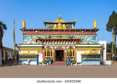 Old Ghoom Monastery is located at Ghum near Darjeeling in the state of West Bengal, India. The monastery follows the Gelug school of Tibetan Buddhism.