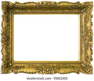 Oval gold frame, Frames Gold Mirror , vintage gold transparent background  PNG clipart | HiClipart
