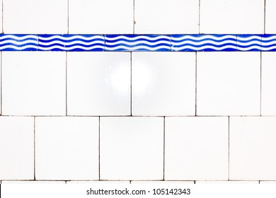 Old glazed tiles