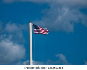 Old Glory Flying in the Wind