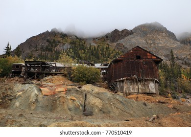 Old gold mine at Nabesna Alaska