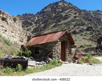 Old gold mining shed