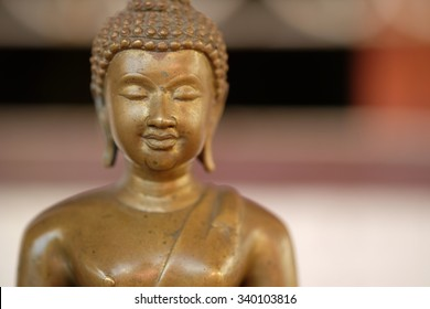 old golden Buddha
