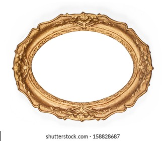 old golden picture frame