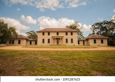 Old Government House - April 18, the historical site of The Australian Convict Sites of Unesco world heritage on April 18, 2018 in Parramatta, New South Wales, Australia