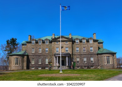 Old Government house in Fredericton, New Brunswick in Atlantic or Maritime Canada