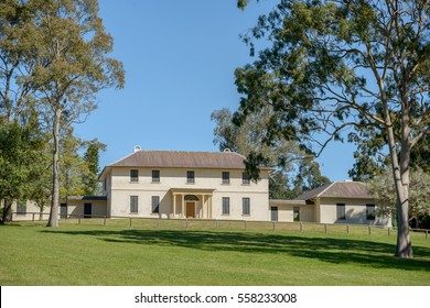 Old Government House Parramatta, New South Wales, Australia.  The house is located in Parramatta Park.