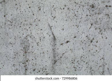 Old gray rough concrete wall texture
