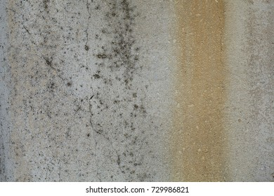 Old gray rusty rough concrete wall texture