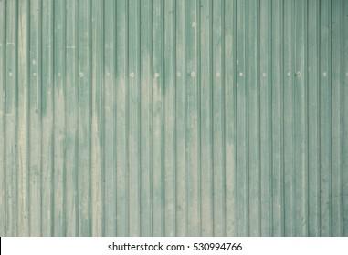 Old Green Color Matel Sheet for Background.