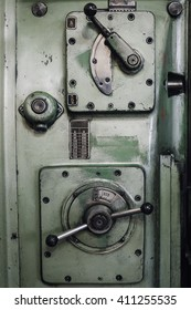 Old green machine for producing tools