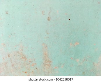 Old green metal plate background and texture