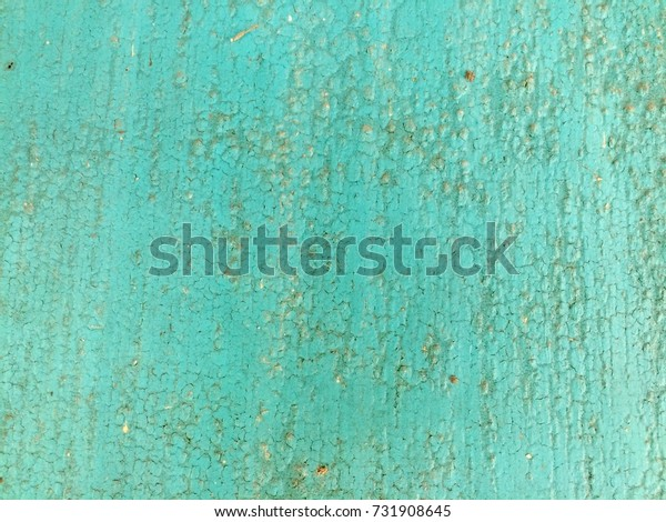 Old green paint wood texture