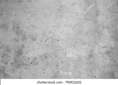 Old grey concrete wall. Grunge textured background