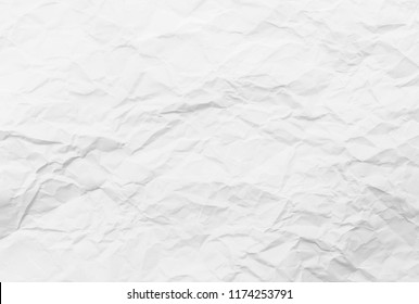 Old grey eco crumpled drawing paper kraft background texture in soft white light color concept for page wallpaper design, gray rice matte organic pattern for decorative wall. Vintage decoration flat.