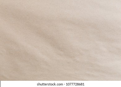 Old grey eco paper kraft background texture in soft white light color concept for page wallpaper design, brown matte pattern for decorative wall.