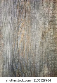 Old grey grunge wooden background surface. Closeup of natural wooden texture.