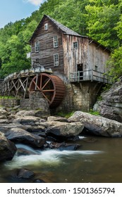 Old Grist Mill Along A Creek