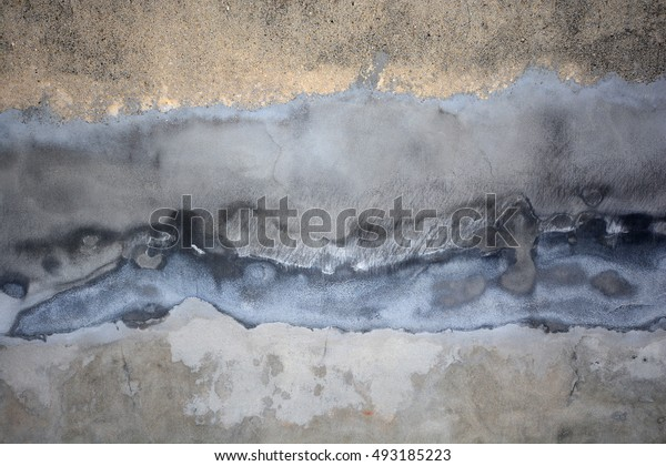 Old grung texture background, grey concrete wall