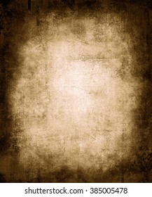 Old grunge abstract texture background with faded central area for your text or picture