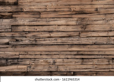 Old grunge dark textured wooden background,The surface of the old brown wood texture.