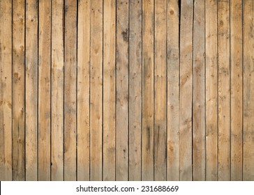 Old grunge fence of wood panels, background
