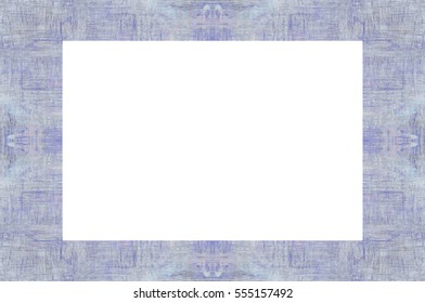 Old Grunge Weathered Peeled Painted Plaster Wall Frame With Abstract Antique Cracked Texture. Retro Stucco Scratched Pattern. Empty Space For Image, Text. Rectangle horizontal 3:2 Aspect Ratio Banner