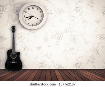 Guitar Clock Stock Photos Images Photography Shutterstock