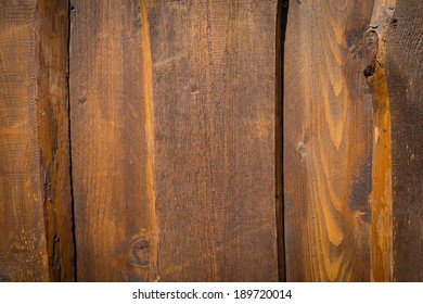 old, grunge wooden wall used as background texture