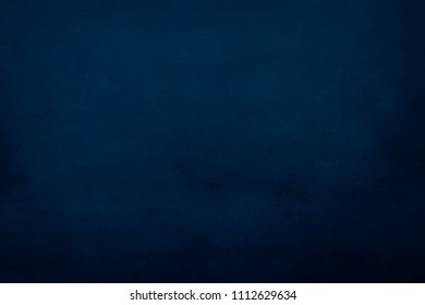old grungy blue painting background