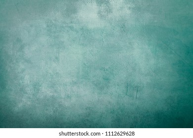 old grungy green painting background