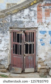 old grungy outdoor door