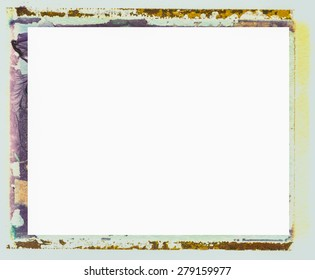An old grungy transfer border can be used for any type of art and photo outline. It adds texture and character to any project.