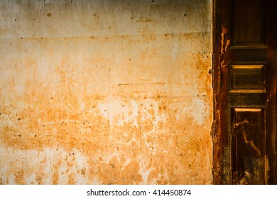 old grungy vintage wall and window texture