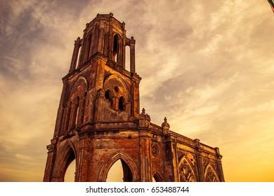 Old Haily Church Ruin
