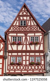 old half timbered houses in Ochsenfurt, Germany