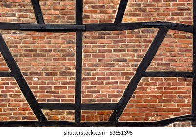 Half timbered construction stock images royalty free images old half timbered wall in abandoned town in germany malvernweather Image collections
