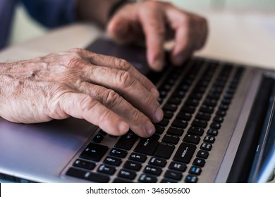 Old hands on the keyboard