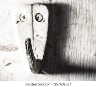 old hanger hook