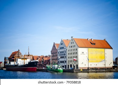 Old harbor from Gdansk, Poland