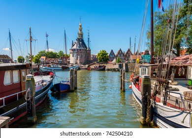 Old Harbor of Hoorn Netherlands
