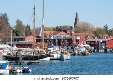 Old harbour of Eckernförde, Germany