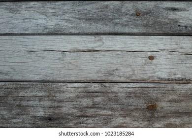 Old hard Wood and nails floor