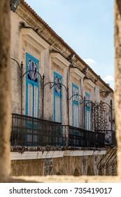 Old Havana downtown street