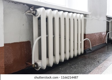 The old heating system