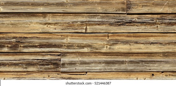 Old Hewn Natural Log Cabin Or Barn Wall Texture Rustic House Vintage Horizontal